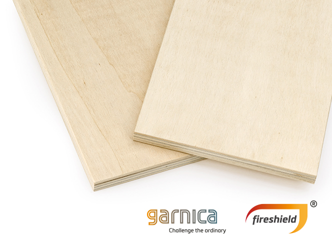 Garnica fireshield Sperrholzplatte